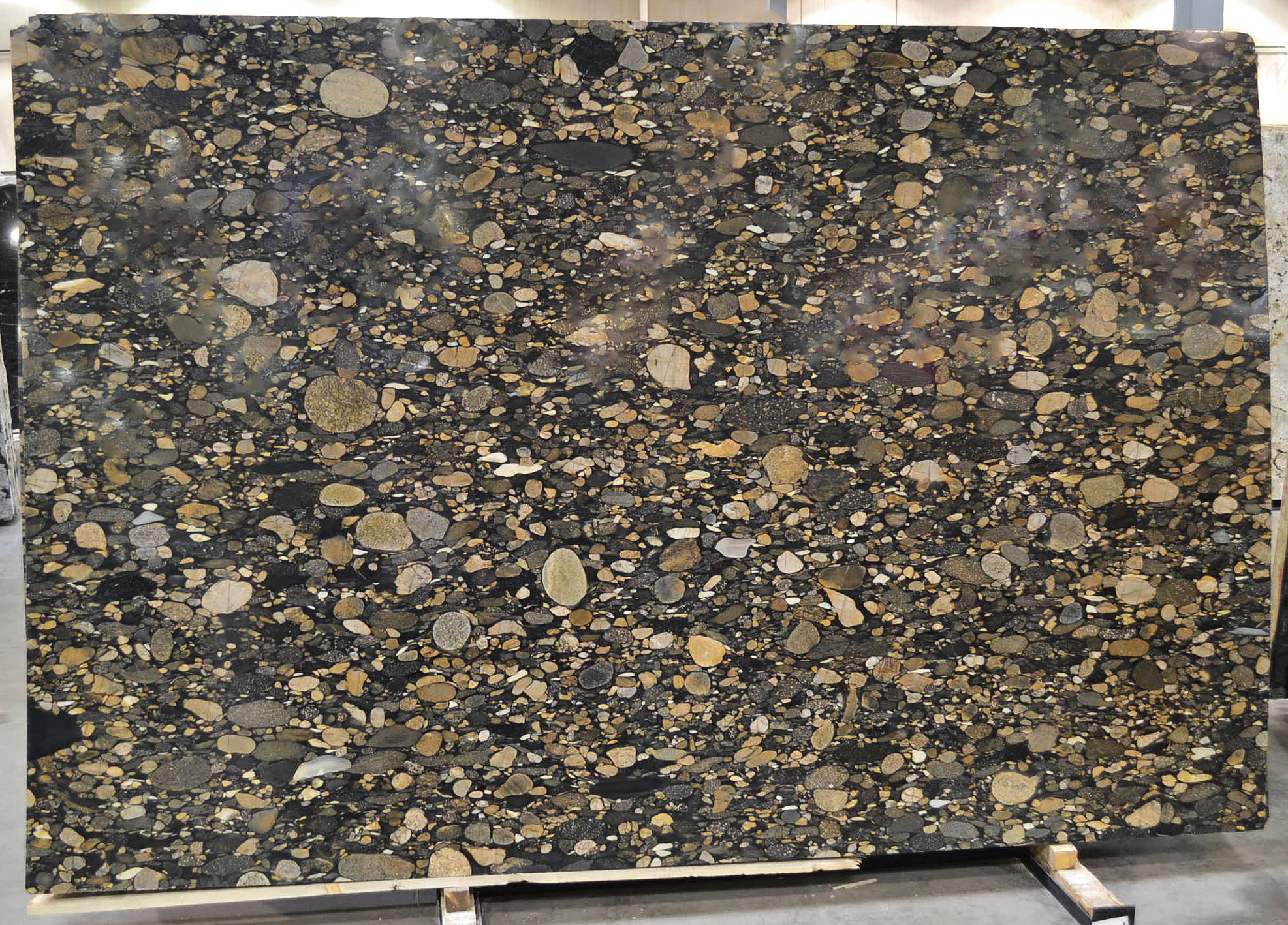 Marinace Gold aka Black Mosaic with Gold